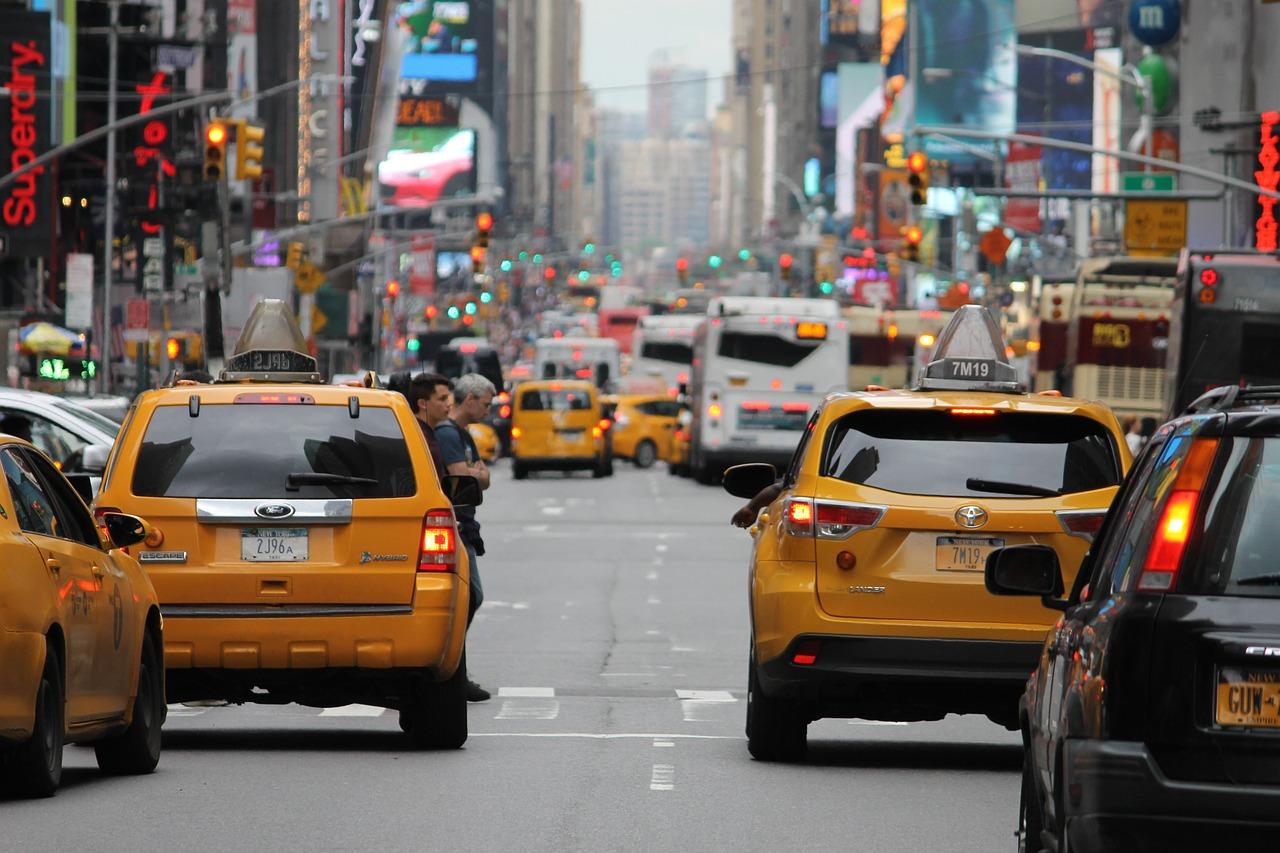 New York - yellow cab :)