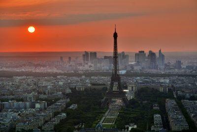 Pariz - prikazna slika za letalske karte - 20 eur