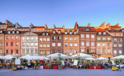 Varšava - prikazna slika za objavo - akcija
