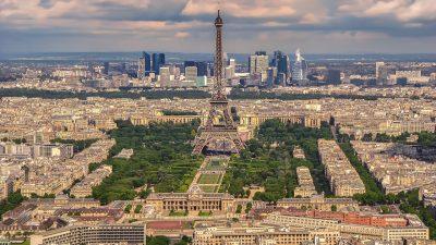 Pariz - letalska karta - 30 eur - maj 2017 - prikazna slika