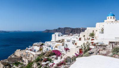 Santorini - jesen - namestitev - prikazna slika