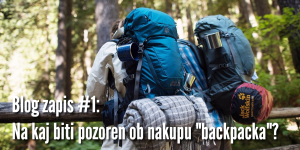backpack - prvi blog zapis - slika