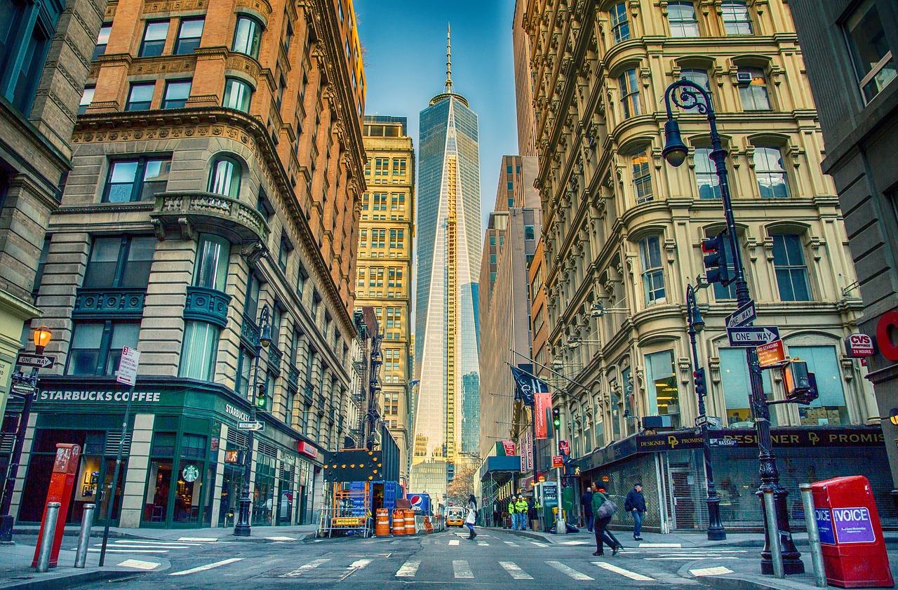 New York z British - prikazna slika