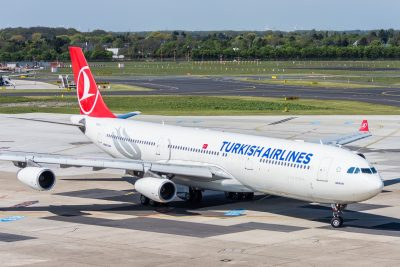Turkish Airlines letalo