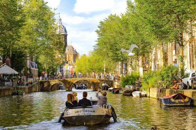 Amsterdam - iz Ljubljane - letalska samo 68 EUR