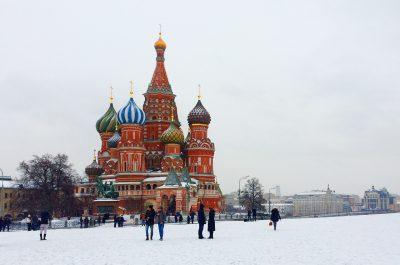 Moskva - prikazna slika - zima