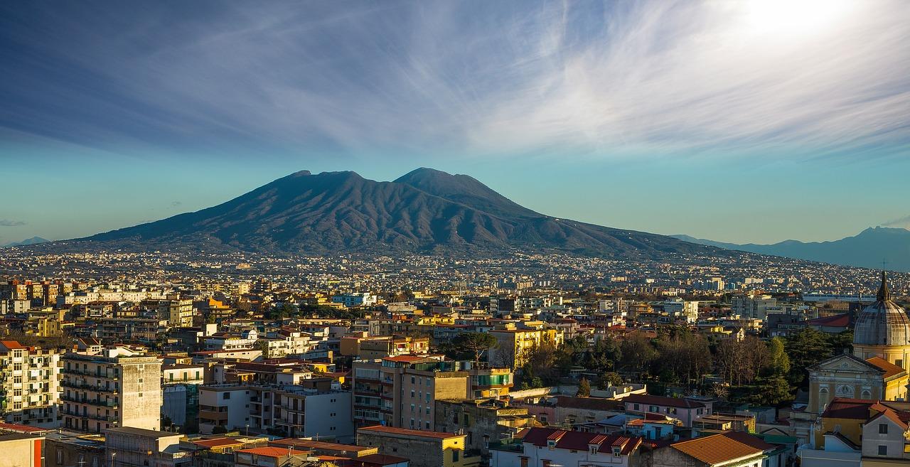 Neapelj april 2018