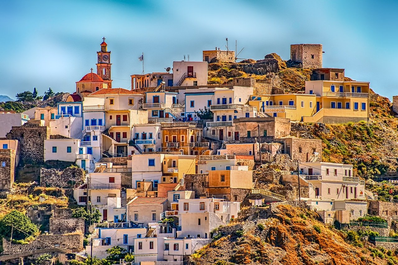 Grčija - Slika vasi